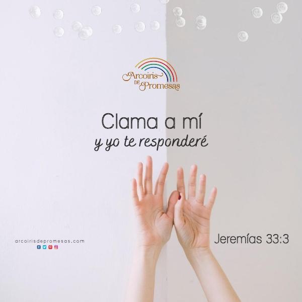 dios promete respondernos mensaje de aliento en la oracion