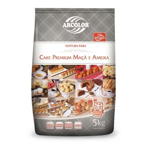 Mist. Cake Premium Maçã e Ameixa