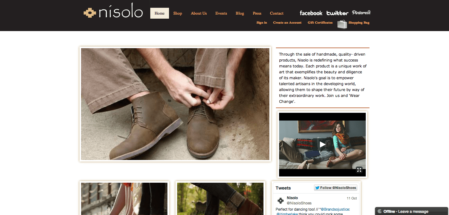 9e4315e79a Instead of giving shoes to 'the poor,' Nisolo instead sells high quality,  handcrafted shoes from poverty stricken countries to the West.