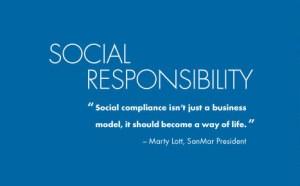 SanMar social responsibility