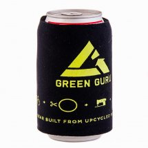 Green Guru Beer Coozie
