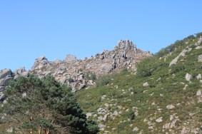 Escarpa na Serra da Peneda