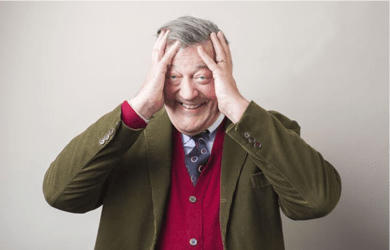 Stephen Fry was diagnosed with depression and bipolar disorder