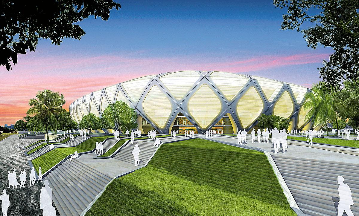 GMP Grupo Stadia Arena Da Amaznia Manaus ARCOweb