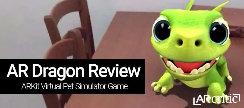 AR Dragon game review banner