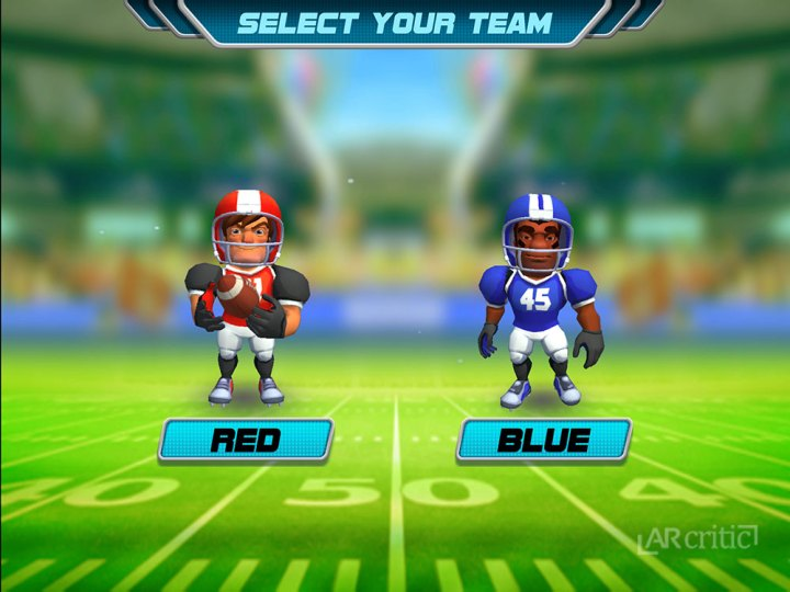 Choose your team, red or blue