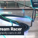 Lightstream Racer AR game