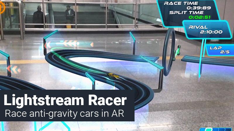 Lightstream Racer AR game