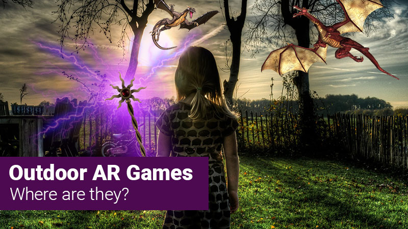 Outdoor AR games