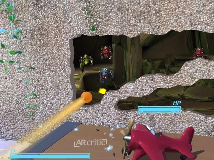 Defend AR game screenshot
