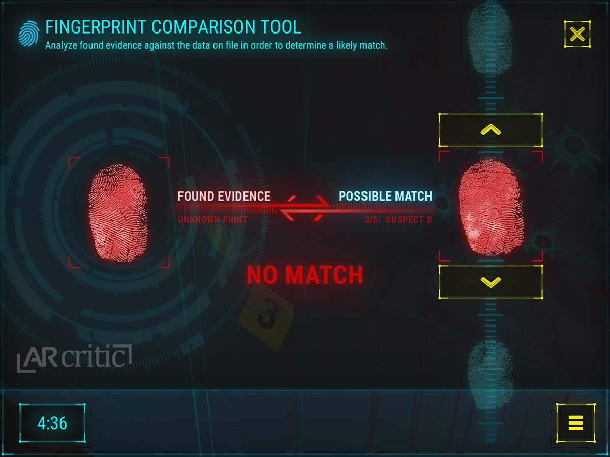 Forensic Detective: Inside the Crime Scene - Game Review (iOS)