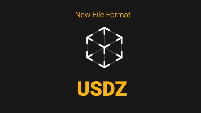 USDZ file format by Apple