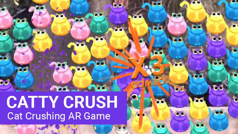 Catty Crush AR Game