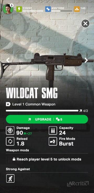 Wildcat SMG gun