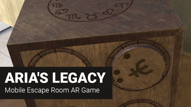 ARia's Legacy Escape Room Game