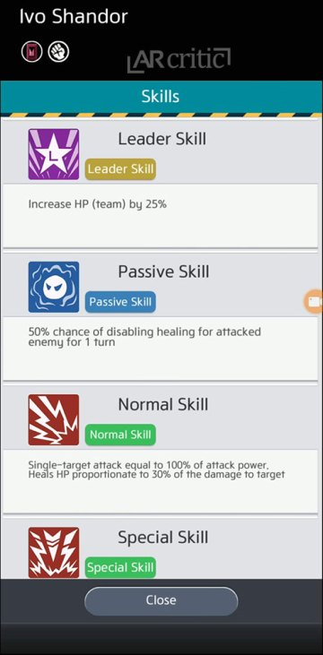 Ghost skills