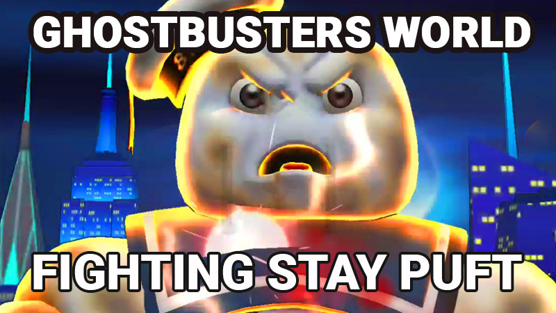 Stay Puft, Ghostbusters World