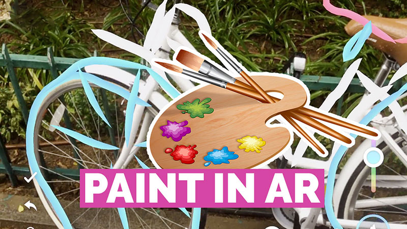 Paint in Augmented Reality