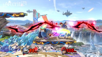 Meta Knight fighting