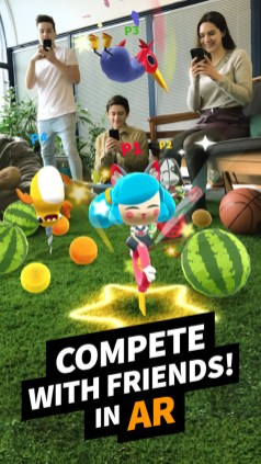 AR multiplayer Game