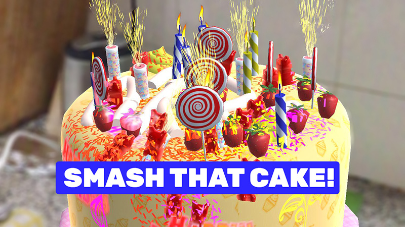 Fabulous Designing And Decorating Virtual Cakes In Augmented Reality Personalised Birthday Cards Xaembasilily Jamesorg
