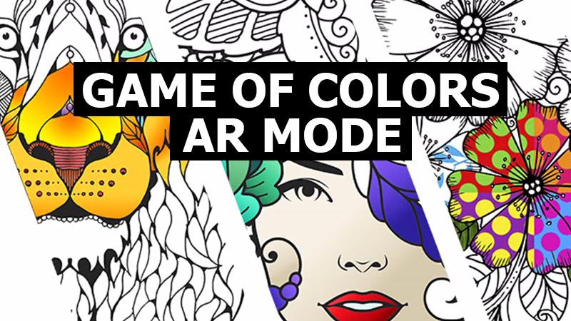 AR Coloring app