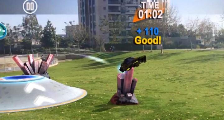 Cosmic GO! AR game screenshot