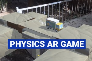 ARchitect – Augmented Reality Physics Game for iOS