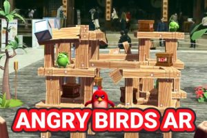 Angry Birds AR: Isle of Pigs Gameplay Video