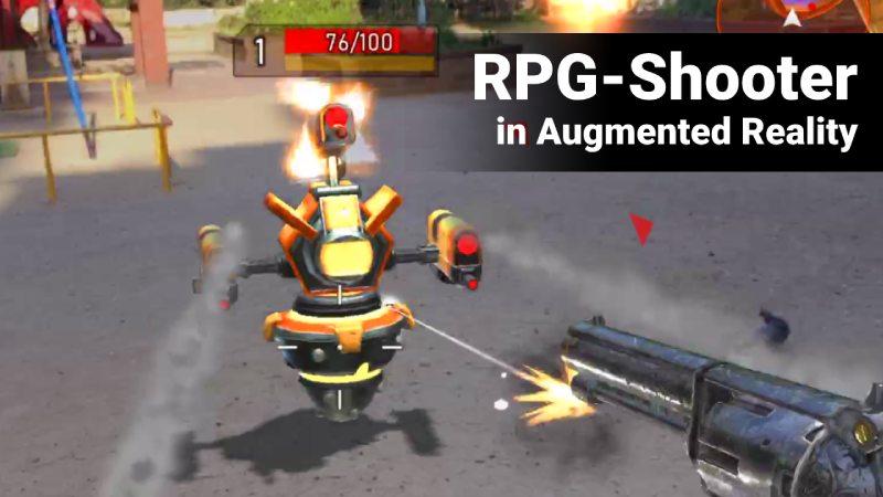 AR RPG shooter game