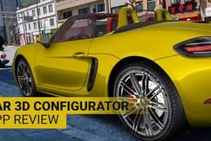 Car 3D Configurator App Video Review