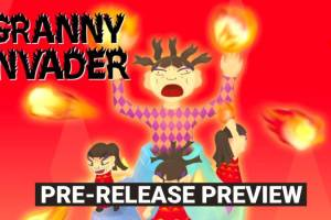 Granny Invader AR Game Gameplay Video First Look