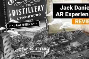 Jack Daniel's AR Experience Video Review