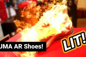 PUMA LQD Cell Origin AR Shoes First Look (Video)