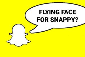 Is there a Snapchat version of IG Flying Face game?