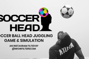 Soccer Head Instagram Filter – Ball Juggling Game