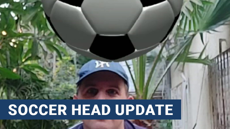 Soccer head update