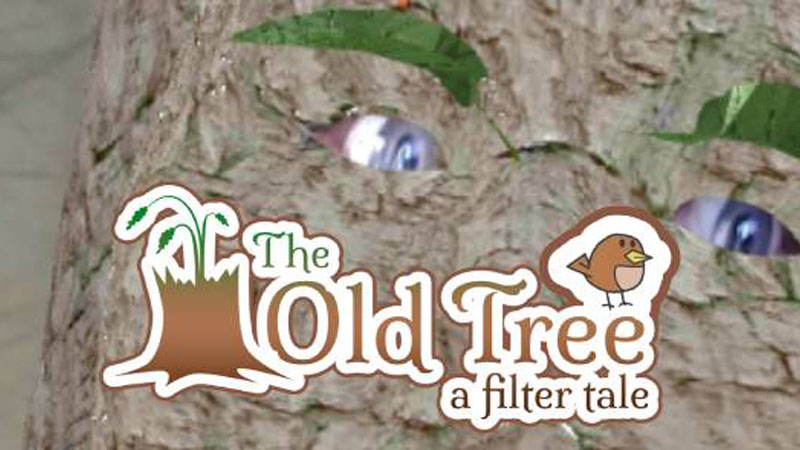 The Old Tree - a Theatrical Instagram Face Filter
