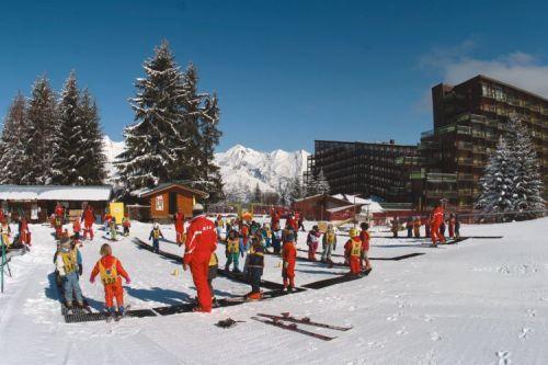 Appartement les Arcs proche Jardin enfants cours de ski ESF