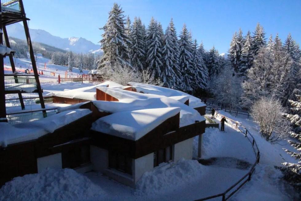 studio appartement les arcs au pied des pistes de ski