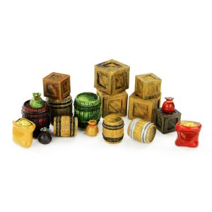 18 Pc Miniature Model Treasure and Loot Set 28mm