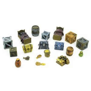 Minion / Storage Room Set 28mm – 19 Piece Set