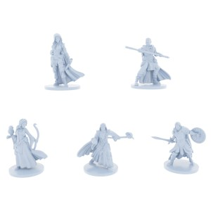 Noble Adventurer's 5 Piece Starter Set (Druid, Warrior, Mage/Wizard, Thief, Monk)