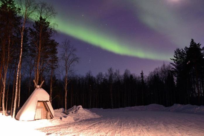 aurores boréales autour de Rovaniemi