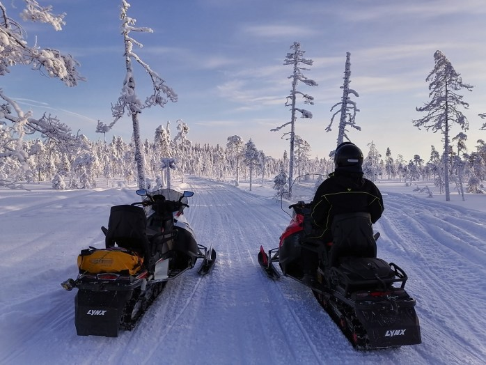 excursion avec guide Français Rovaniemi