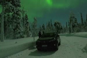 Conduire une voiture en Laponie
