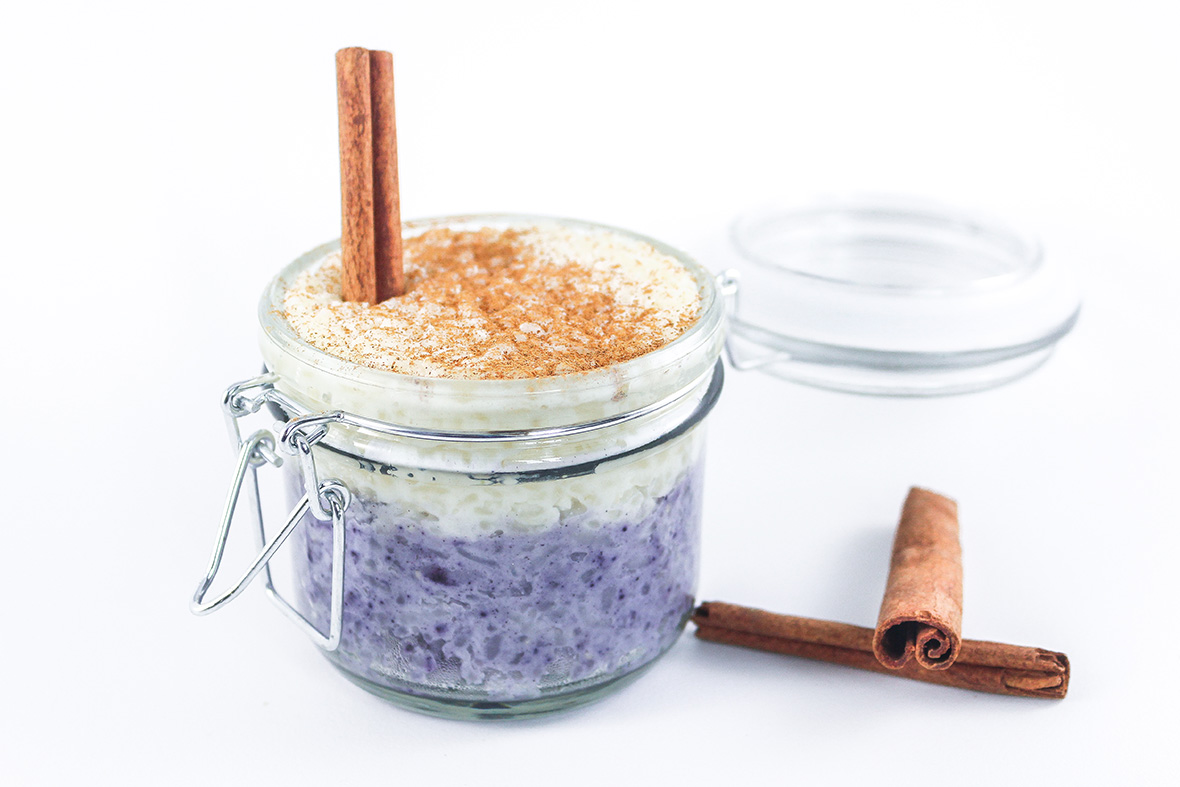 This homemade two-layer wild Arctic blueberry pudding is the perfect addition to your brunch or dessert table. Not only this, but thanks to the Arctic Flavors wild blueberry powder, this goodness contains a boost of antioxidants and fibers that make it nutritious too.