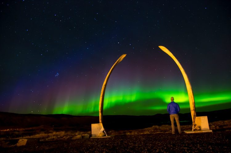 Canada Places See Northern Lights