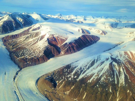 Barbeau Peak on Ellesmere Island, Nunavut