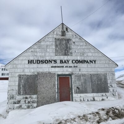 Hudson's Bay Company Trade Post in Iqaluit